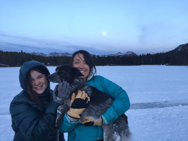 Ice lakes, full moon and smiles!