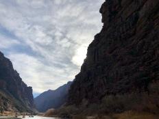 Entering Ladore Canyon.