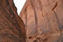Canyon walls.