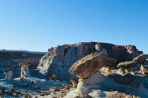 Exploring Martian hoodoos near Page, AZ.