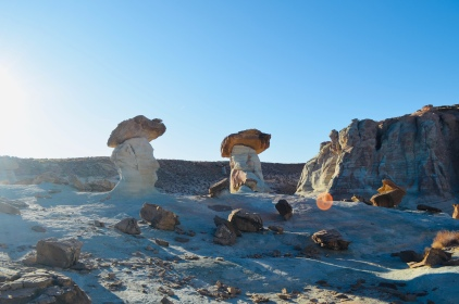 More Hoodoos playing in the light.