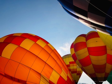 Lovely globes at the ABQ Balloon Fiesta.